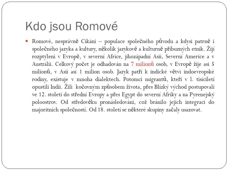 Kdo jsou Romové