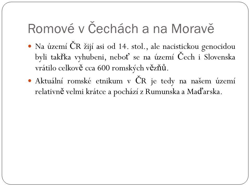 Romové v Čechách a na Moravě
