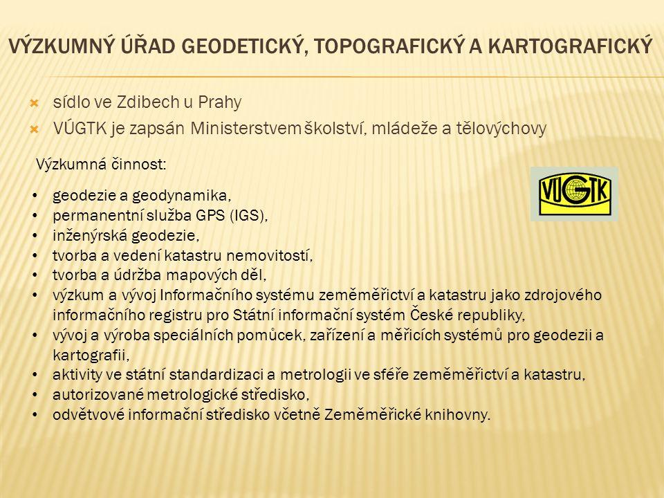 Výzkumný úřad geodetický, topografický a kartografický