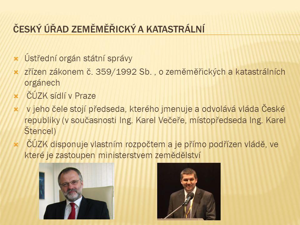 Český úřad zeměměřický a katastrální