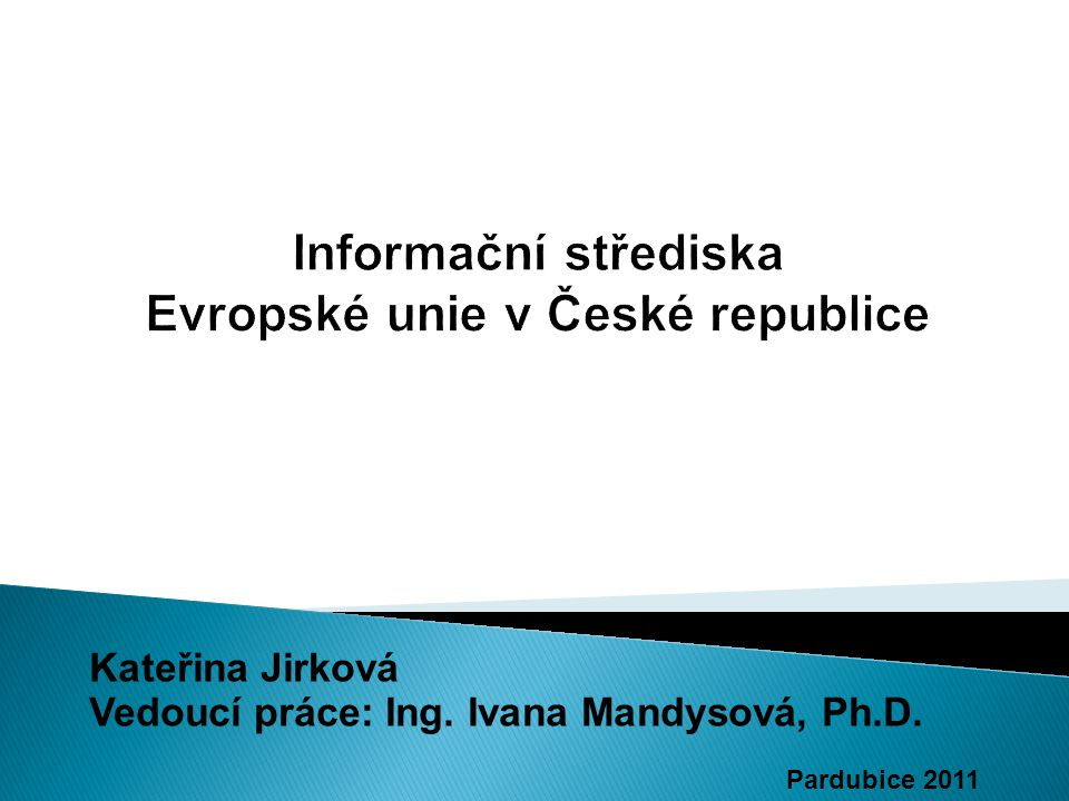 Informační střediska Evropské unie v České republice