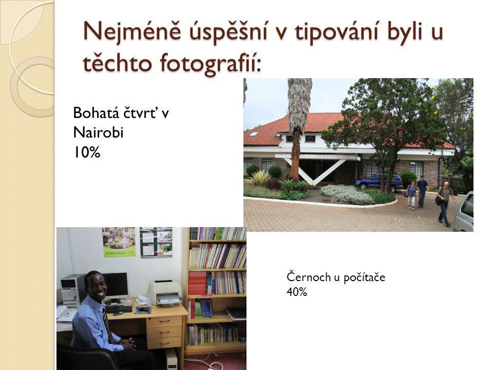 Nejméně úspěšní v tipování byli u těchto fotografií: