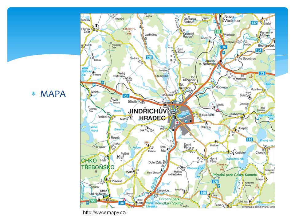MAPA http://www.mapy.cz/