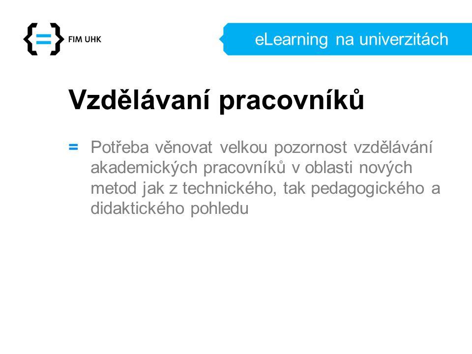 eLearning na univerzitách