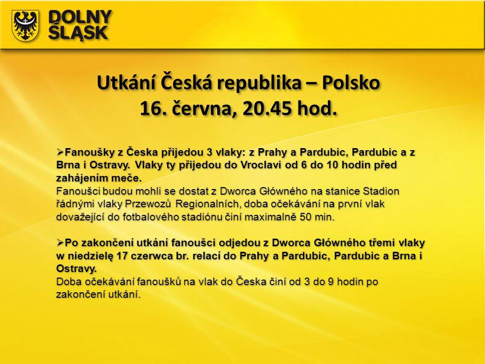 Utkání Česká republika – Polsko