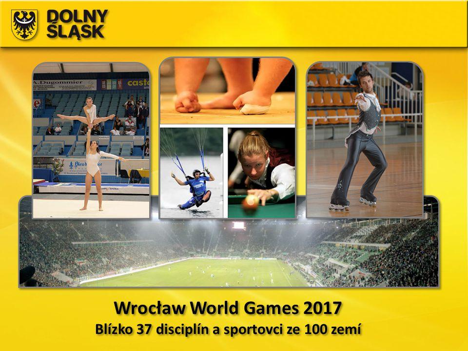 Blízko 37 disciplín a sportovci ze 100 zemí