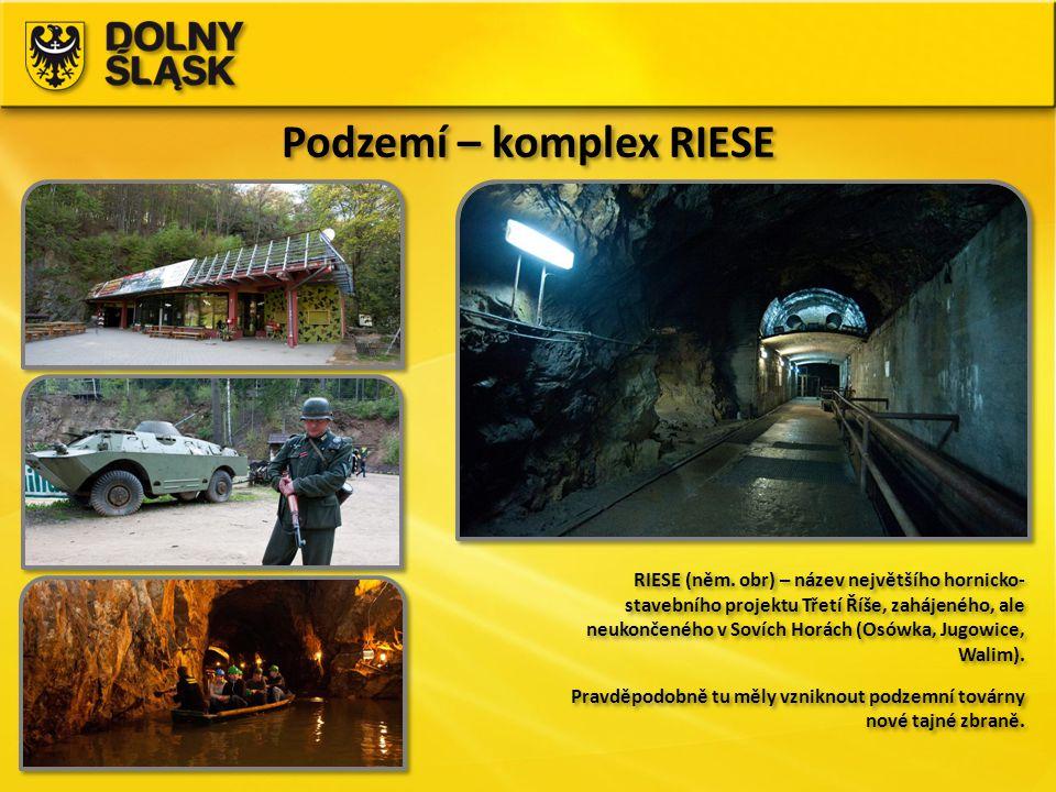 Podzemí – komplex RIESE