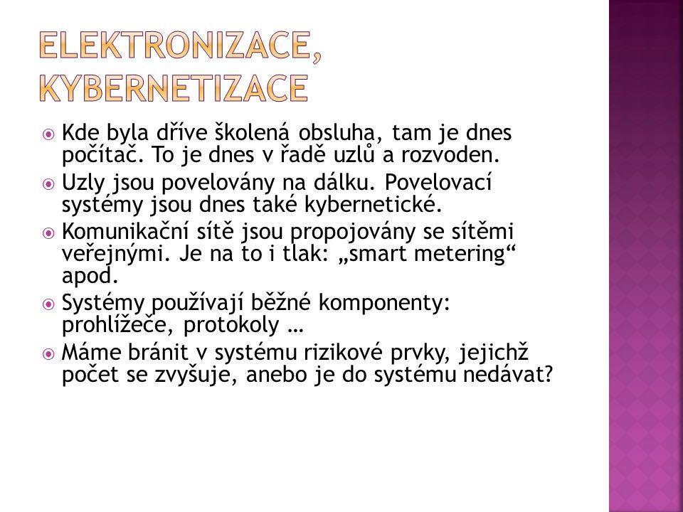 Elektronizace, kybernetizace