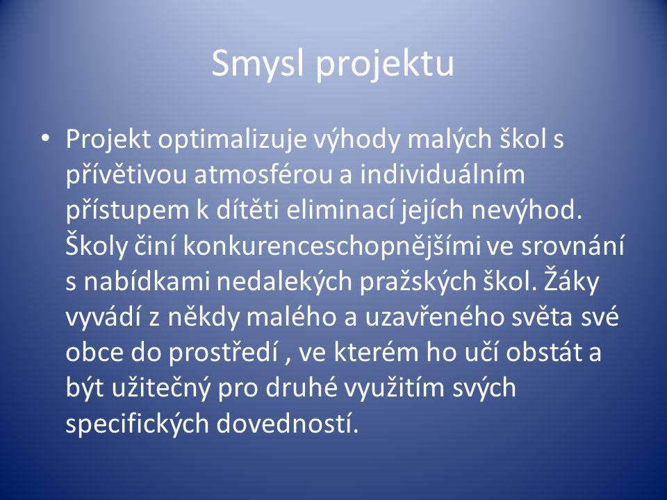 Smysl projektu