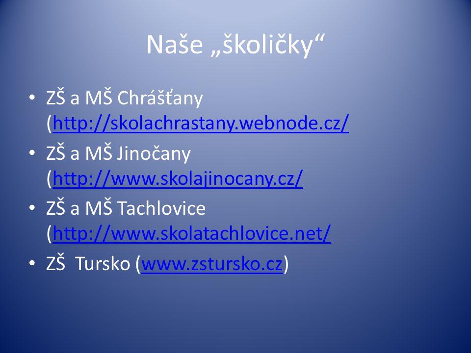 """Naše """"školičky ZŠ a MŠ Chrášťany (http://skolachrastany.webnode.cz/"""