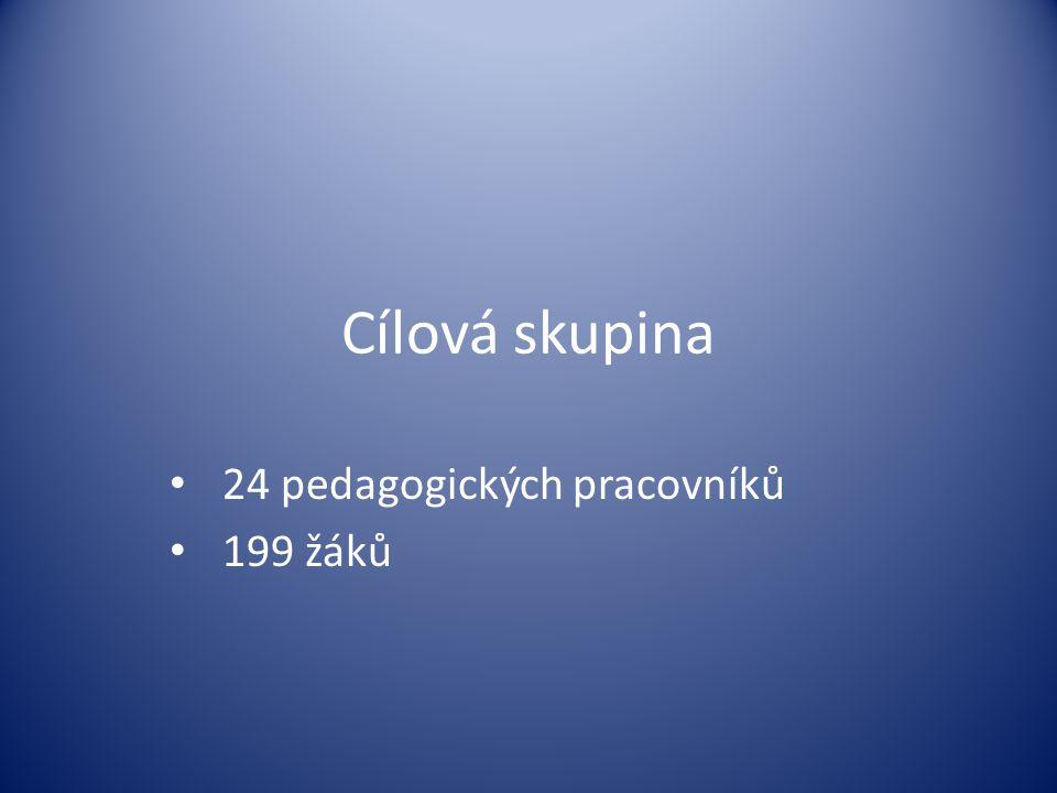 24 pedagogických pracovníků 199 žáků