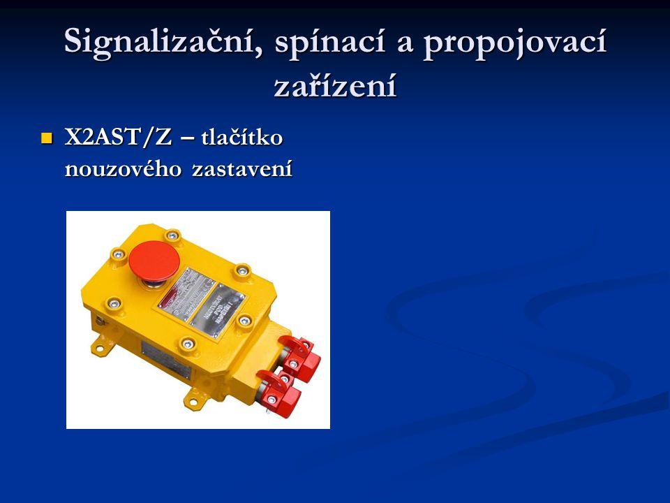 Signalizační, spínací a propojovací zařízení