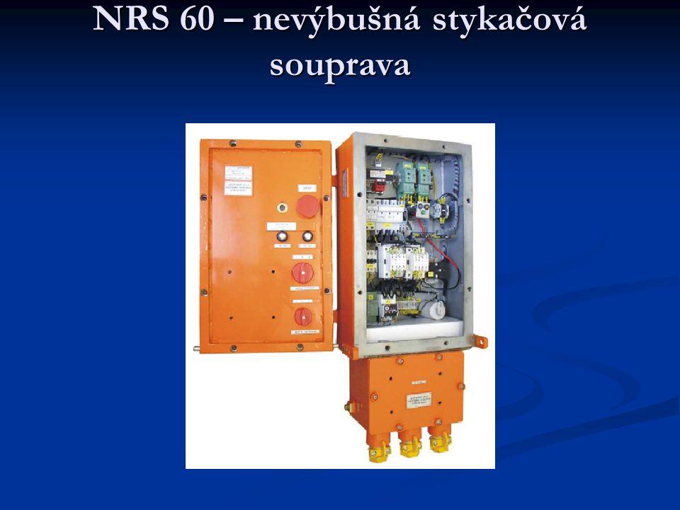 NRS 60 – nevýbušná stykačová souprava