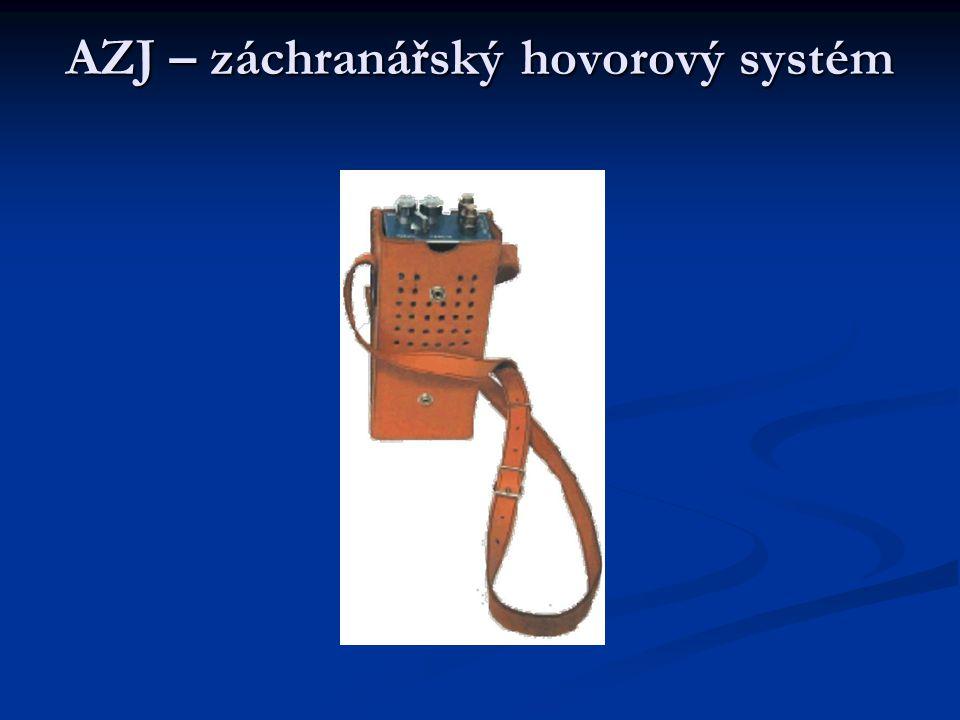 AZJ – záchranářský hovorový systém