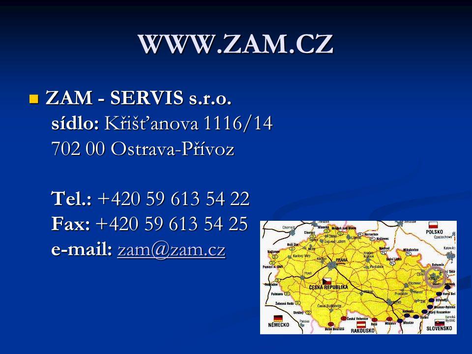 WWW.ZAM.CZ