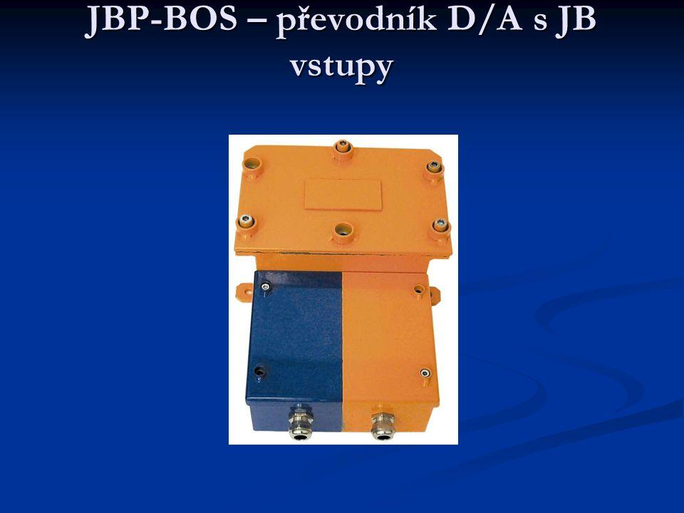 JBP-BOS – převodník D/A s JB vstupy