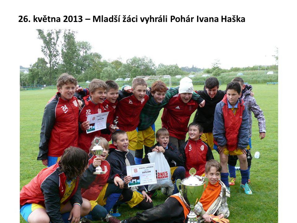 26. května 2013 – Mladší žáci vyhráli Pohár Ivana Haška