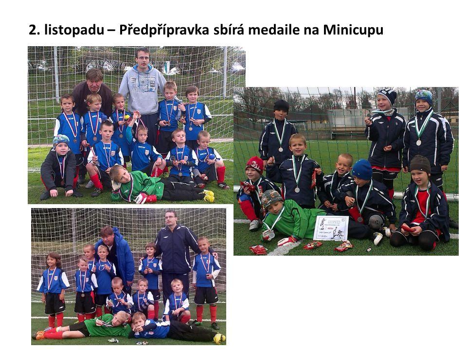 2. listopadu – Předpřípravka sbírá medaile na Minicupu