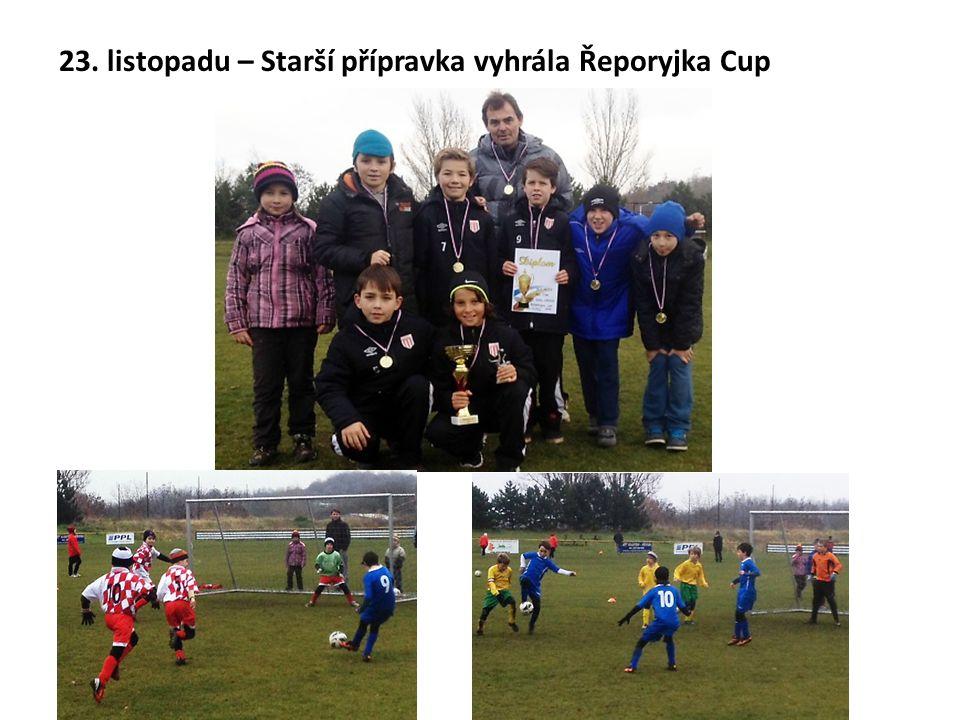 23. listopadu – Starší přípravka vyhrála Řeporyjka Cup