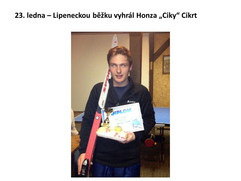"""23. ledna – Lipeneckou běžku vyhrál Honza """"Ciky Cikrt"""