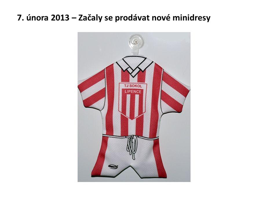 7. února 2013 – Začaly se prodávat nové minidresy