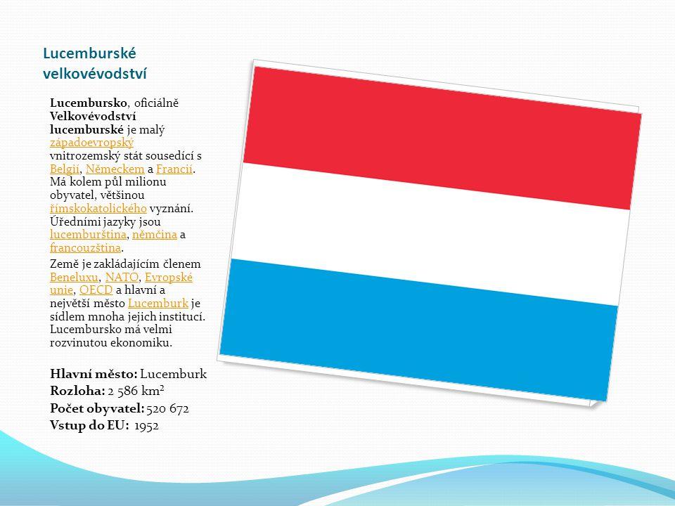 Lucemburské velkovévodství