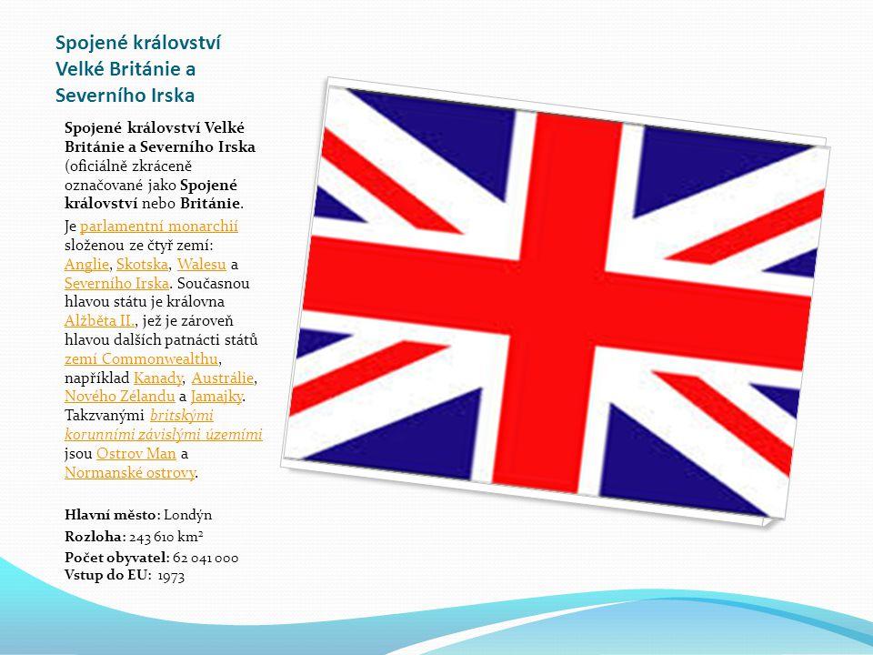 Spojené království Velké Británie a Severního Irska