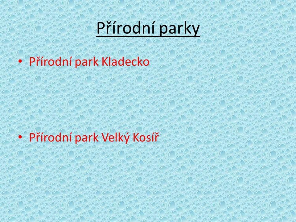 Přírodní parky Přírodní park Kladecko Přírodní park Velký Kosíř