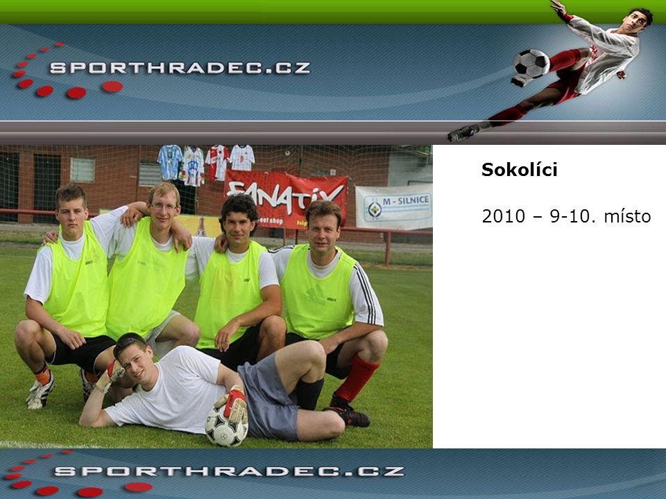 Sokolíci 2010 – 9-10. místo