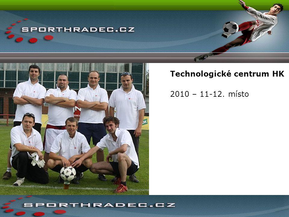 Technologické centrum HK 2010 – 11-12. místo