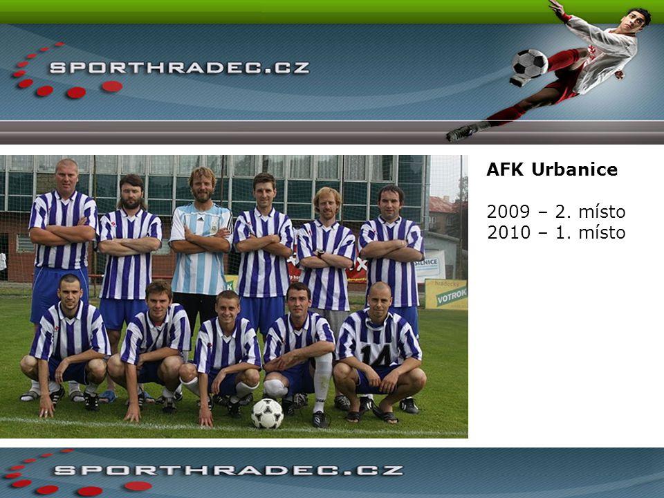 AFK Urbanice 2009 – 2. místo 2010 – 1. místo
