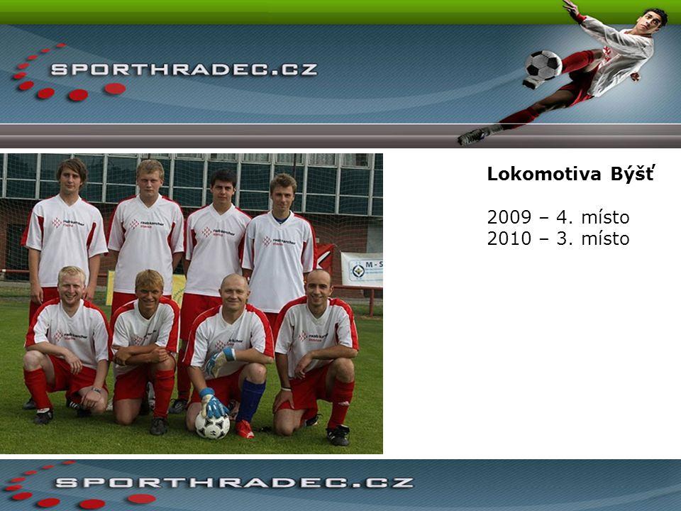 Lokomotiva Býšť 2009 – 4. místo 2010 – 3. místo