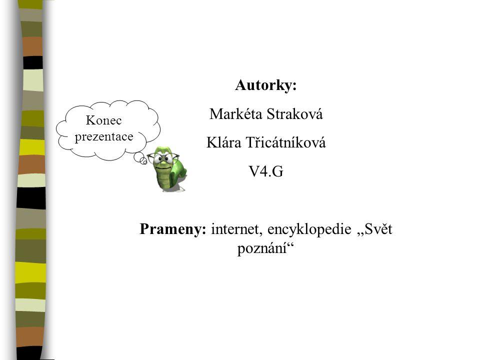 """Prameny: internet, encyklopedie """"Svět poznání"""