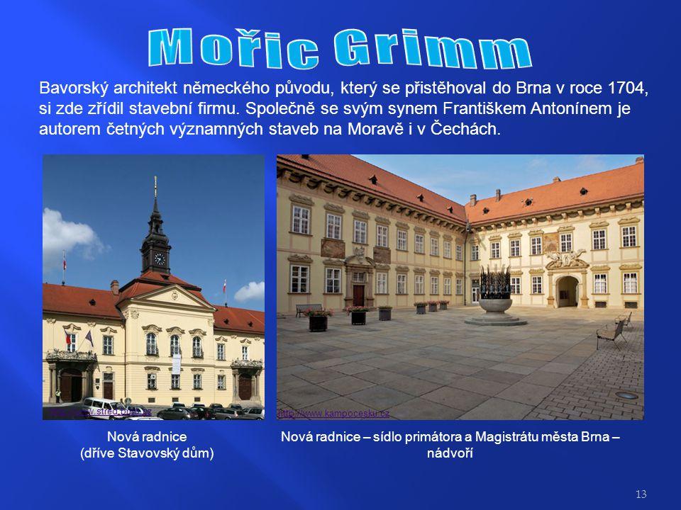 Nová radnice – sídlo primátora a Magistrátu města Brna –