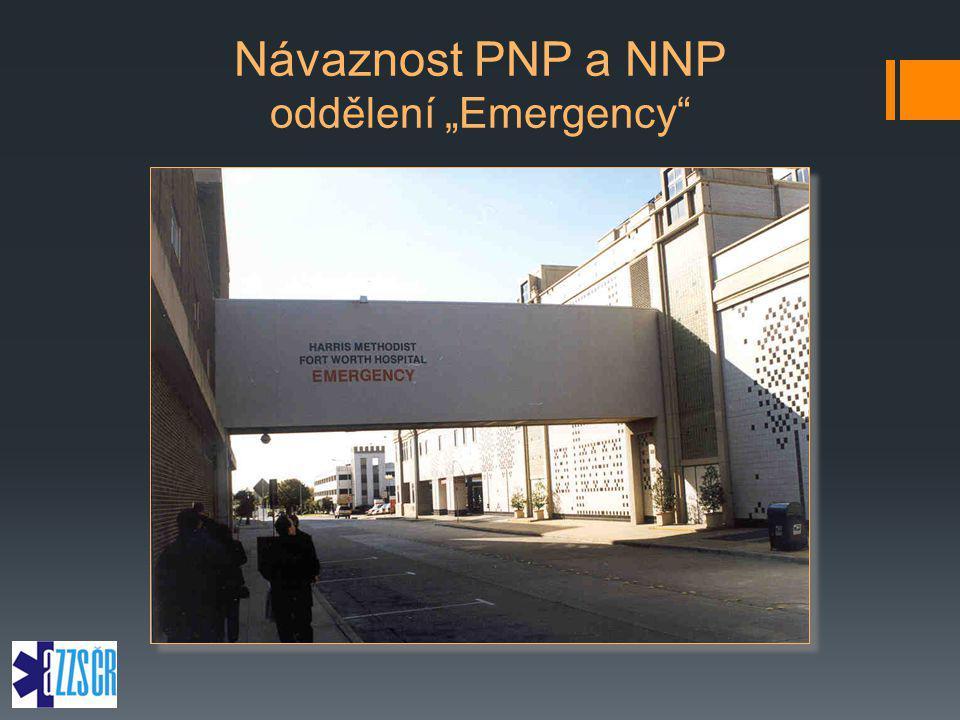 """Návaznost PNP a NNP oddělení """"Emergency"""
