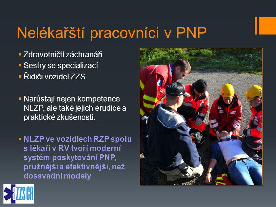 Nelékařští pracovníci v PNP