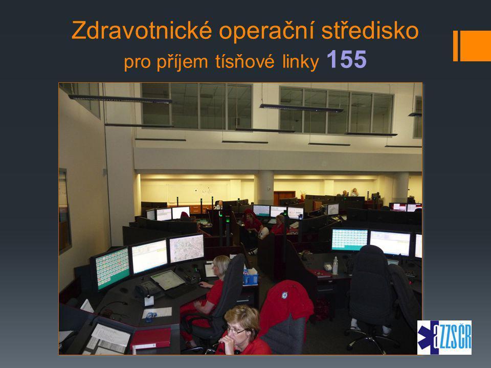 Zdravotnické operační středisko pro příjem tísňové linky 155