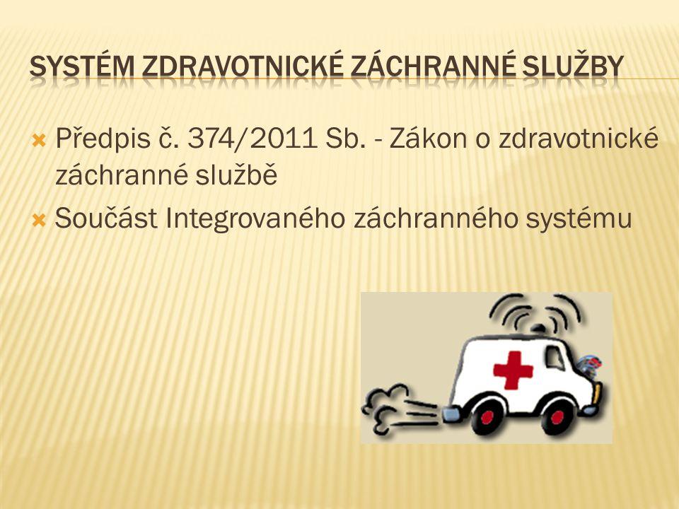 systém Zdravotnické záchranné služby