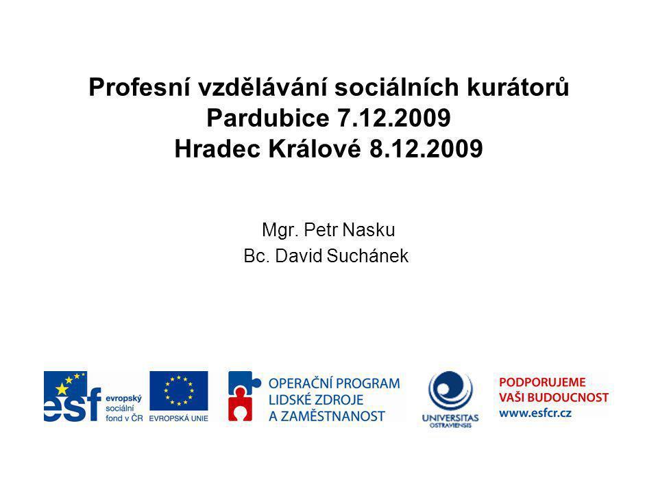 Mgr. Petr Nasku Bc. David Suchánek