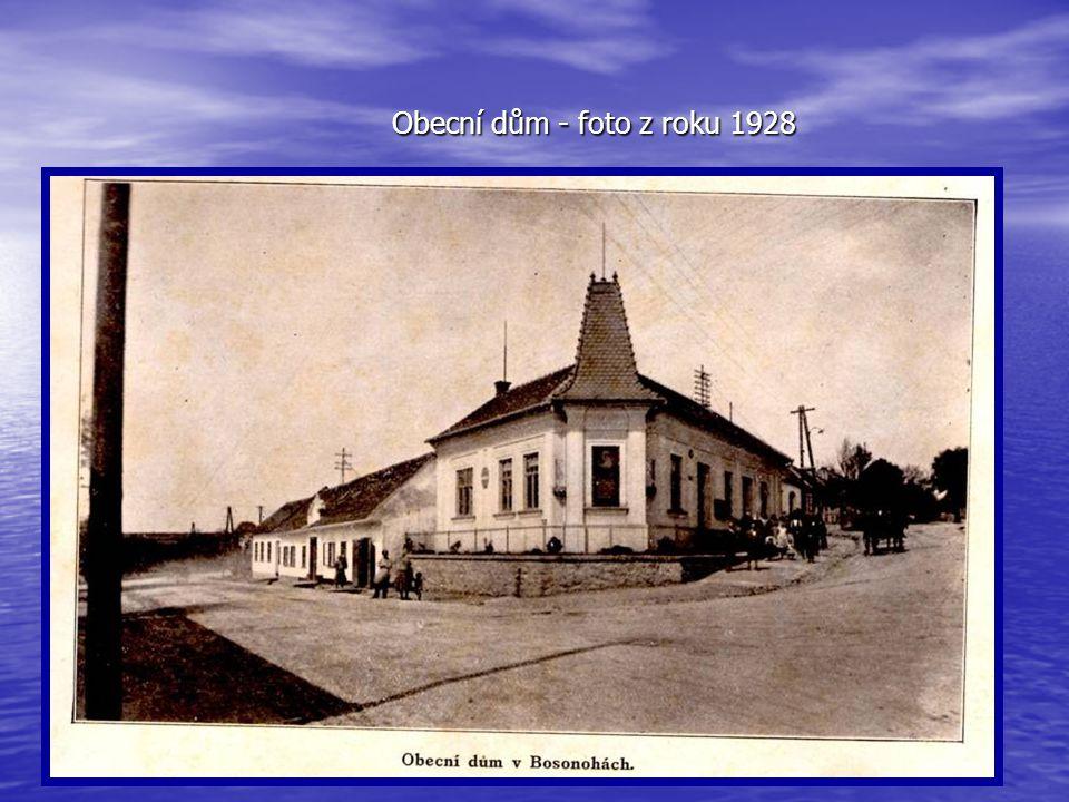 Obecní dům - foto z roku 1928
