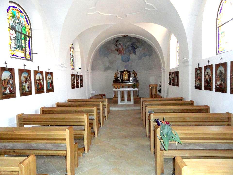 interiér KAPLE sv. Floriána-celkový pohled