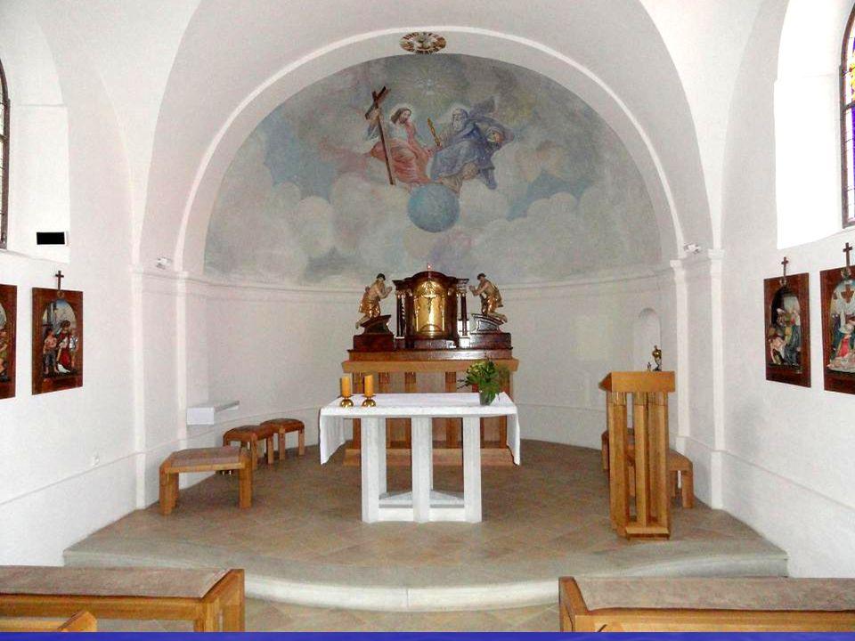 interiér KAPLE svatého Floriána