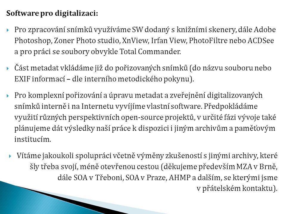 Software pro digitalizaci: