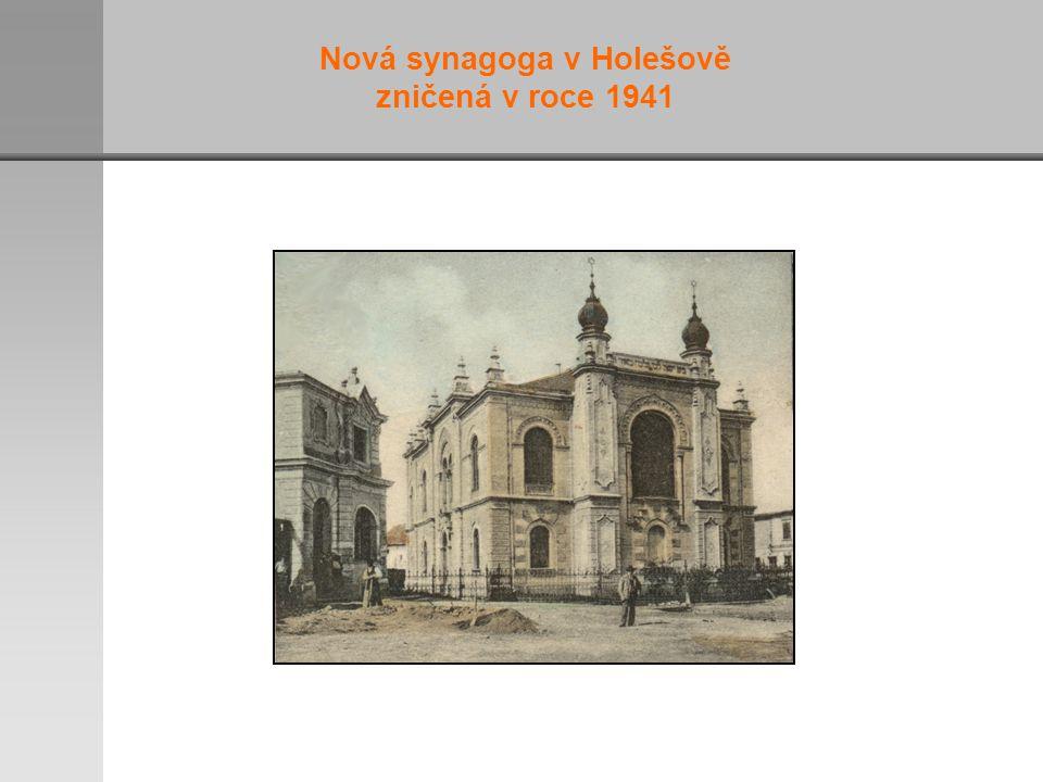 Nová synagoga v Holešově