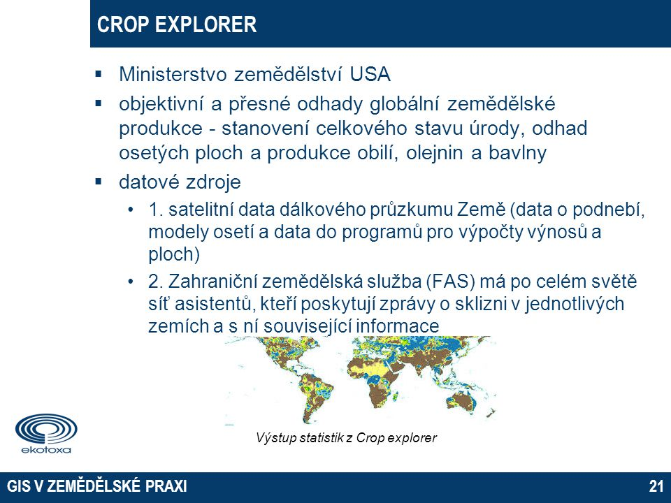 02 April 2017 EKOTOXA s.r.o. Opava CROP EXPLORER