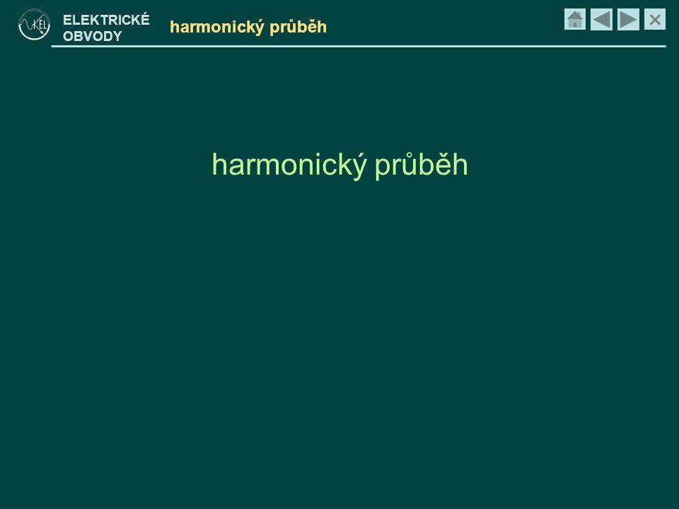 harmonický průběh harmonický průběh