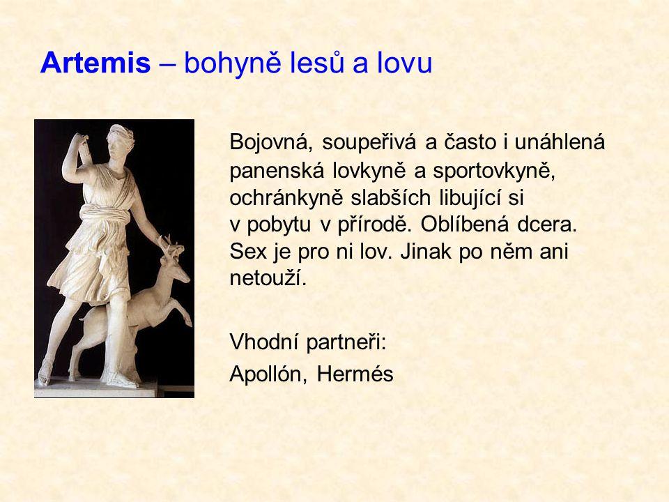 Artemis – bohyně lesů a lovu