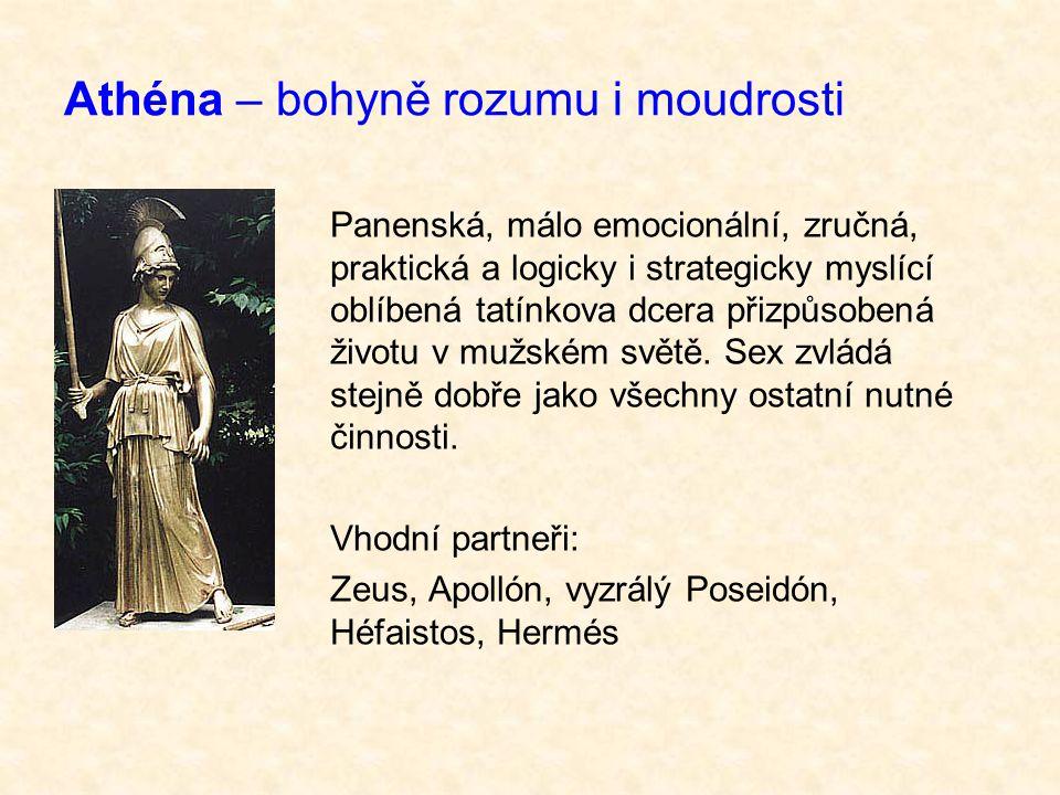 Athéna – bohyně rozumu i moudrosti
