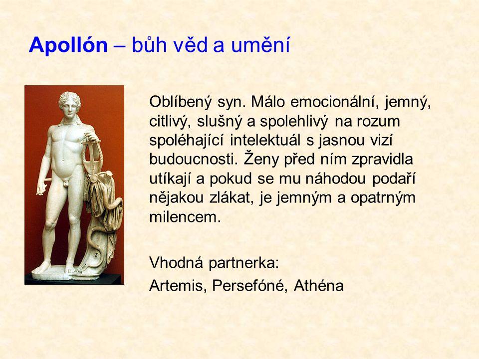 Apollón – bůh věd a umění