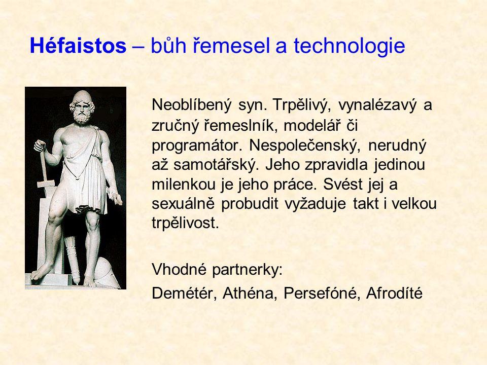 Héfaistos – bůh řemesel a technologie